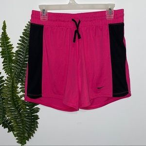 Nike Dri Fit Shorts Pink Black S NWT